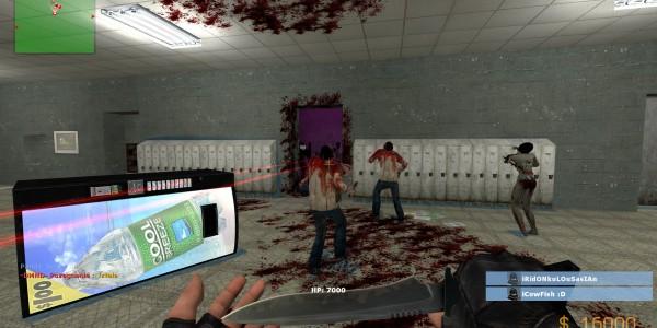 Как играть кс го с зомби модом cs go non steam server download